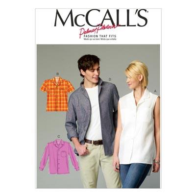 Shirt, McCalls Unisex6932 | 34-44