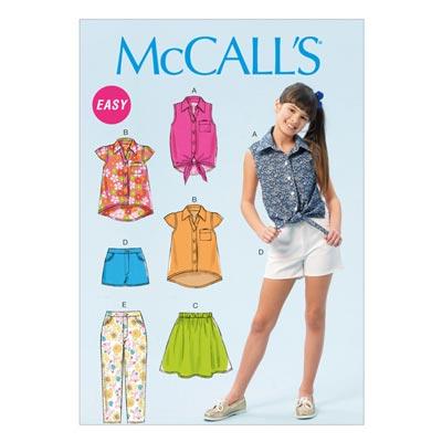 Top, McCalls 6951 | 140-158