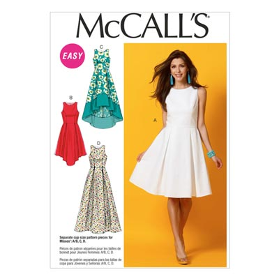 Kleid, McCalls 6953 | 40-48