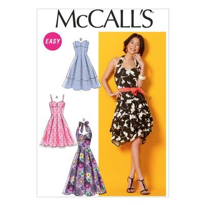Kleid, McCalls 6956 | 32-40