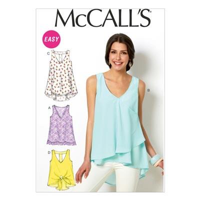 Top, McCalls 6960 | 32-40