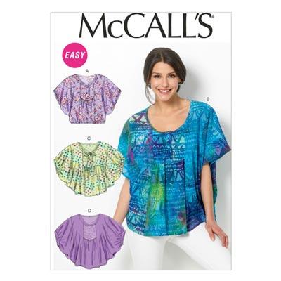 Top, McCalls 6962 | 42-50