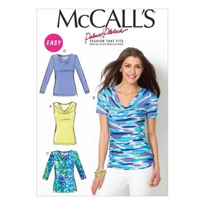 Top, McCalls 6963 | 42-50