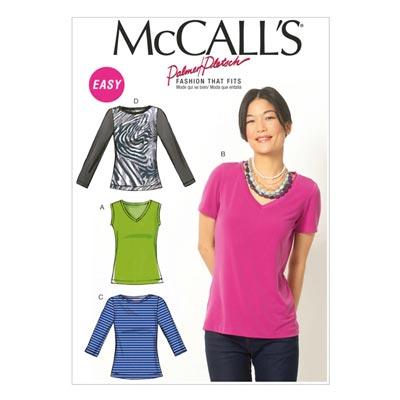 Top, McCalls 6964 | 42-50