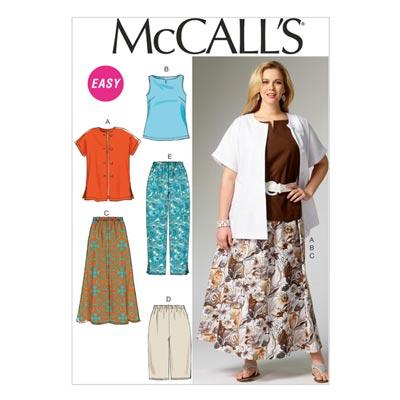 Top/Rock/Hose6970, McCalls | 34-50