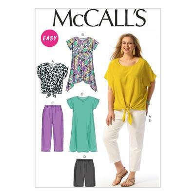 Top, McCalls 6971 | 34-50