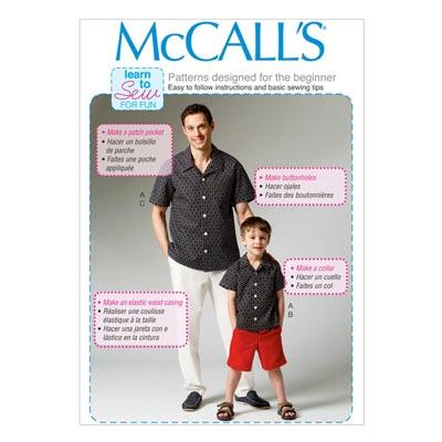 Shirt, McCalls 6972 | 104-134