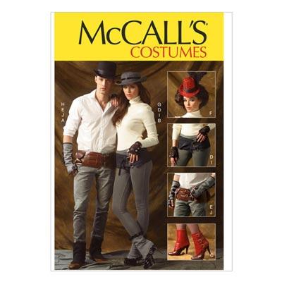 Hut/Stulpen/Handschuhe, McCalls 6975 | One Size