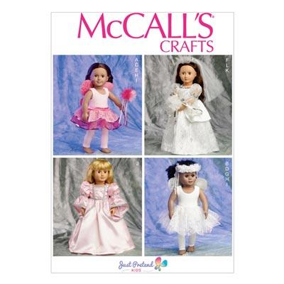 Puppenkleider, McCalls 6981 | One Size