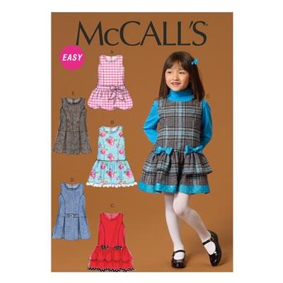 Kleid, McCalls 7008 | 122-134