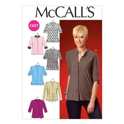 Bluse, McCalls 7018 | 34-42