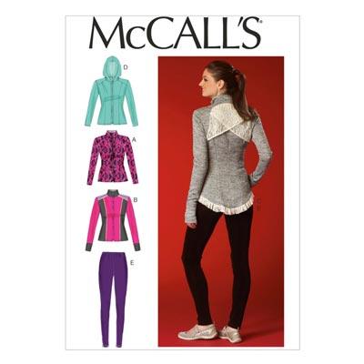 Jacke/Leggins, McCalls 7026 | 32-40