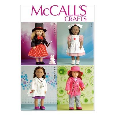 Puppenkleider, McCalls 7031 | One Size