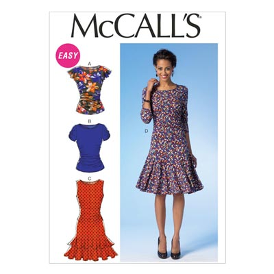 Kleid, McCalls 7046 | 40-48