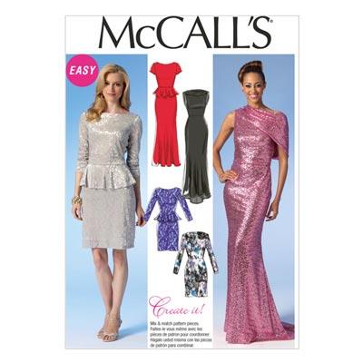 Kleid, McCalls 7047 | 40-48