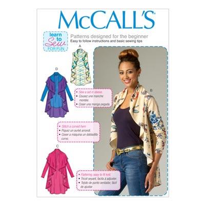 Weste/Cardigan, McCalls 7055 | 42-50