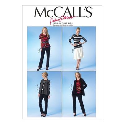Jacke/Weste/Top/Hose, McCalls 7059 | 40-48
