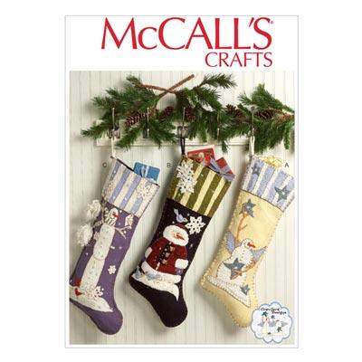 Weihnachtsstrümpfe, McCalls 7063 | One Size