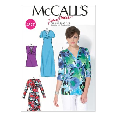 Kleider / Tops, McCall´s M7092