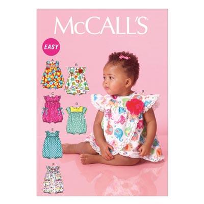 Babystrampler, McCALL'S 7107