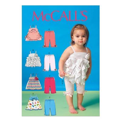 Top / Leggings, McCALL'S 7142