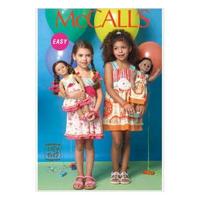 Baby- / Puppenkleider, McCALL'S 7146