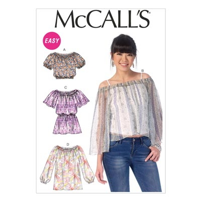 Top, McCALL'S 7163