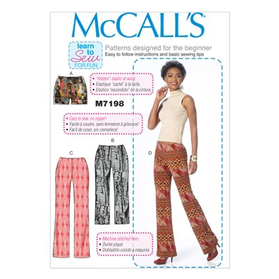 Shorts / Hose, McCALL'S 7198