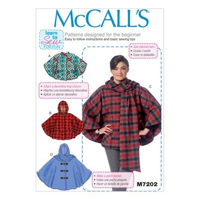 Poncho, McCALL'S 7202