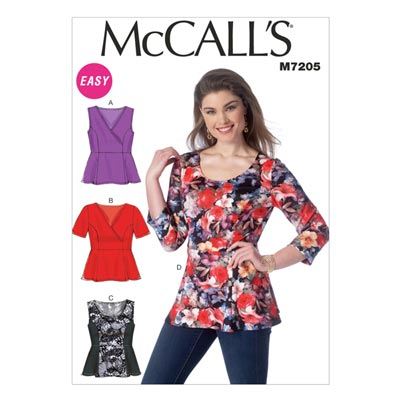 Top, McCALL'S 7205