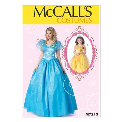 Prinzessinkostüm, McCALL'S 7213