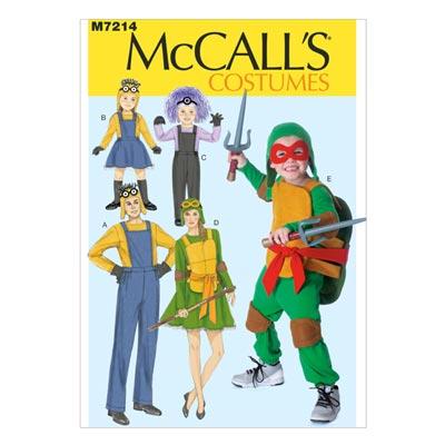 Erwachsene / Kinderkostüme 1, McCALL'S 7214