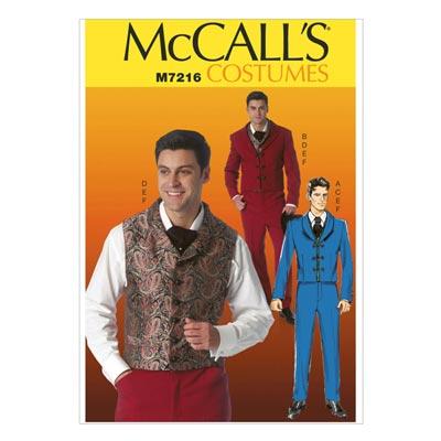 Herren Kostüm, McCALL'S 7216