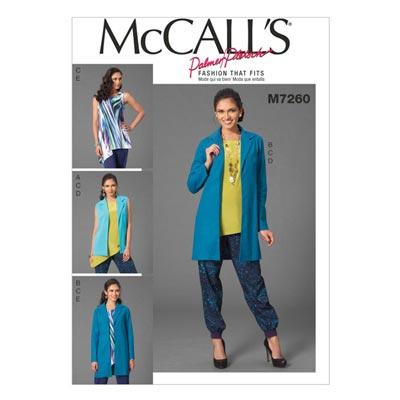 Weste/Jacke, McCalls 7260 | 40-48