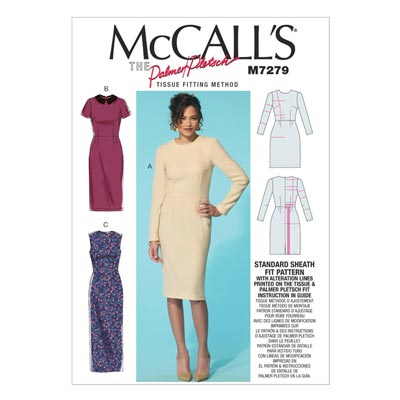 Kleid, McCalls 7279 | One Size