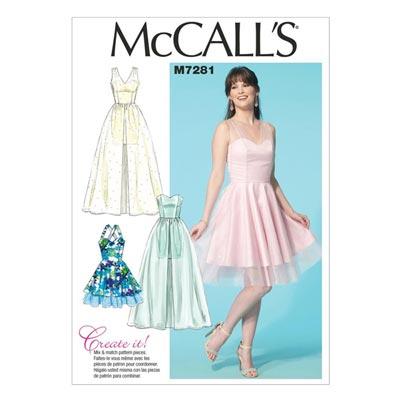Kleid, McCalls 7281 | 40-48