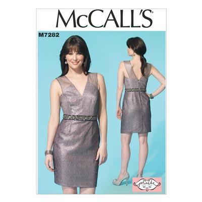 Kleid, McCalls 7282 | 30-38
