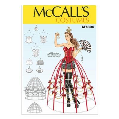 Kostüm, McCalls 7306 | 32-40