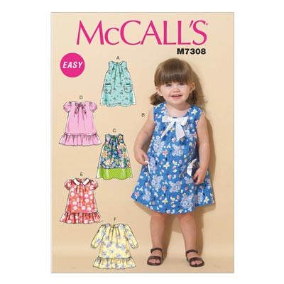 Top/Kleid, McCalls 7308 | One Size