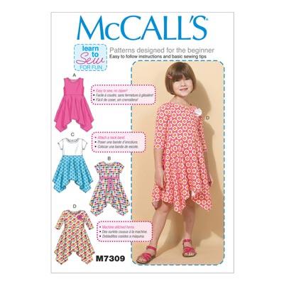 Kleid, McCalls 7309 | 122-134