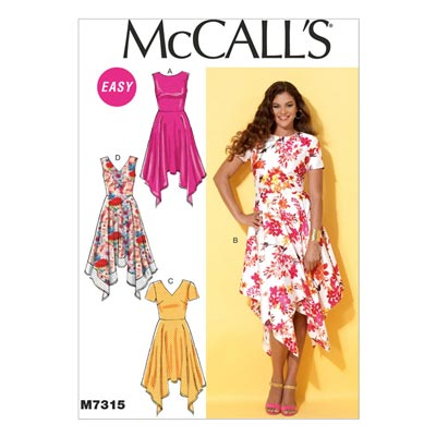 Kleid, McCalls 7315 | 32-40