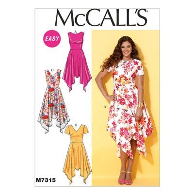 Kleid, McCalls 7315 | 40-48