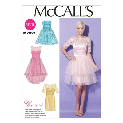 Kleid, McCalls 7321 | 32-40