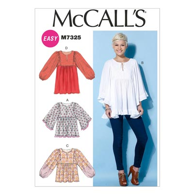 Tunika, McCalls 7325 | 32-40