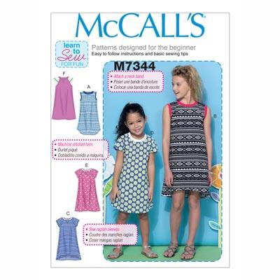 Kinderkleid/Shirt, McCalls | 128-152
