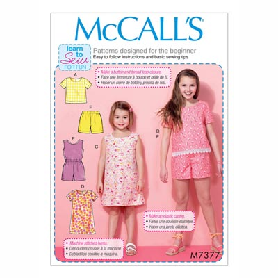 Top/Kleid/Jumpsuit/Shorts, McCalls | 128-152