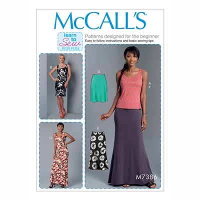 Top/Kleid/Rock, McCalls | 32-40