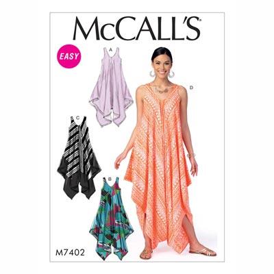 Kleid/Jumpsuit , McCalls 7402 | 30 - 40