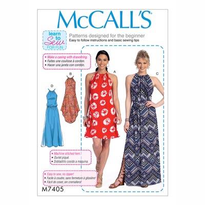 Kleid/Gürtel , McCalls 7405 | 30 - 40
