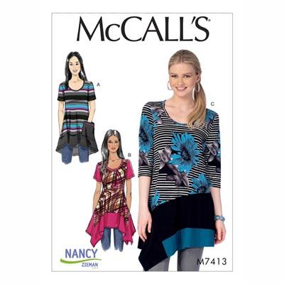 Top , McCalls 7413 | 42 - 50